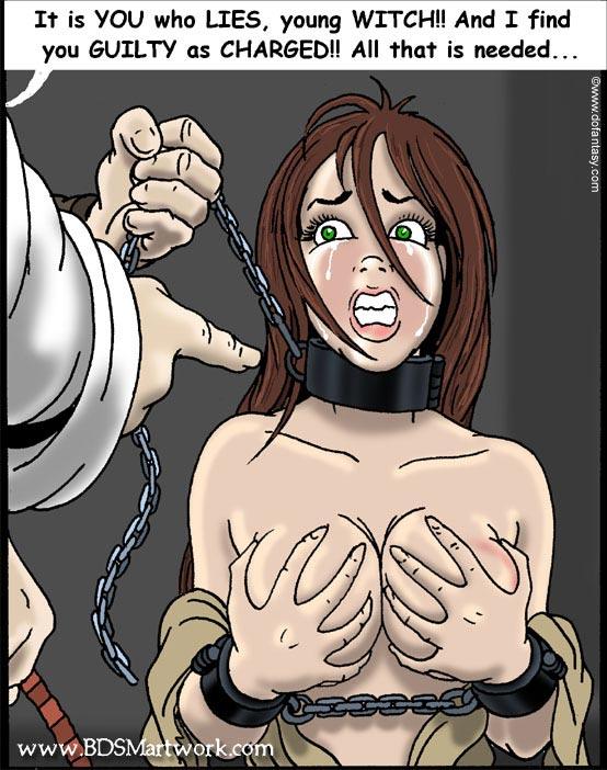 Bdsm bondage comics